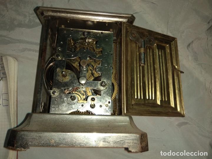 Relojes de carga manual: Antiguo Reloj de Carruaje Junghans - Melchor Fuster - Oliva - Valencia - Leer Descripción - - Foto 7 - 160015394