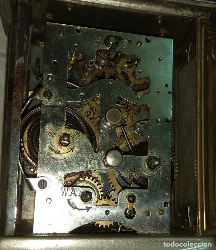 Relojes de carga manual: Antiguo Reloj de Carruaje Junghans - Melchor Fuster - Oliva - Valencia - Leer Descripción - - Foto 8 - 160015394