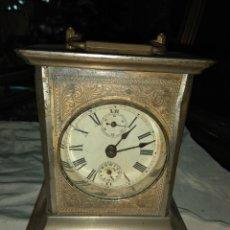 Relojes de carga manual: ANTIGUO RELOJ DE CARRUAJE - LEER DESCRIPCIÓN -. Lote 160017238