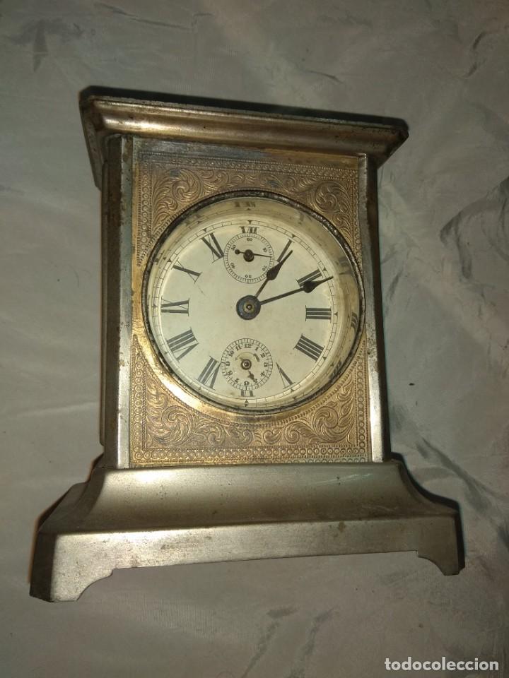 Relojes de carga manual: Antiguo Reloj de Carruaje - Leer Descripción - - Foto 2 - 160017238
