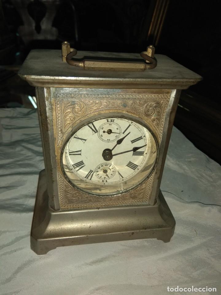 Relojes de carga manual: Antiguo Reloj de Carruaje - Leer Descripción - - Foto 3 - 160017238