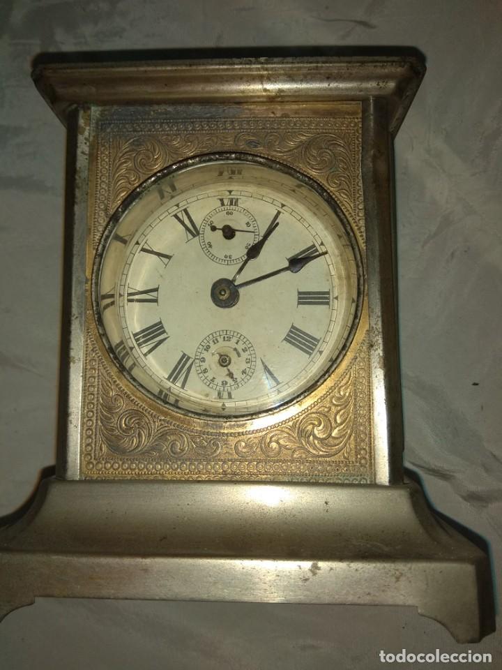 Relojes de carga manual: Antiguo Reloj de Carruaje - Leer Descripción - - Foto 4 - 160017238