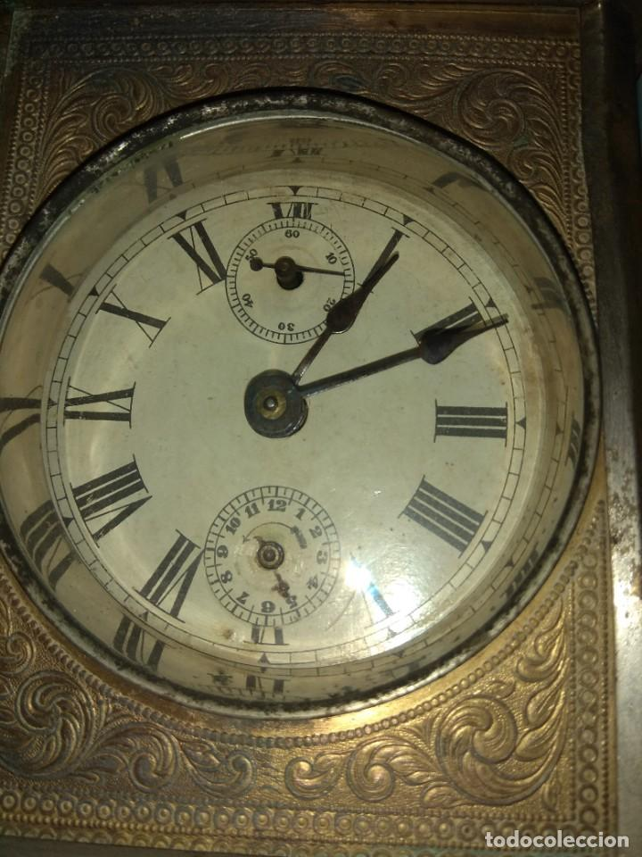Relojes de carga manual: Antiguo Reloj de Carruaje - Leer Descripción - - Foto 5 - 160017238