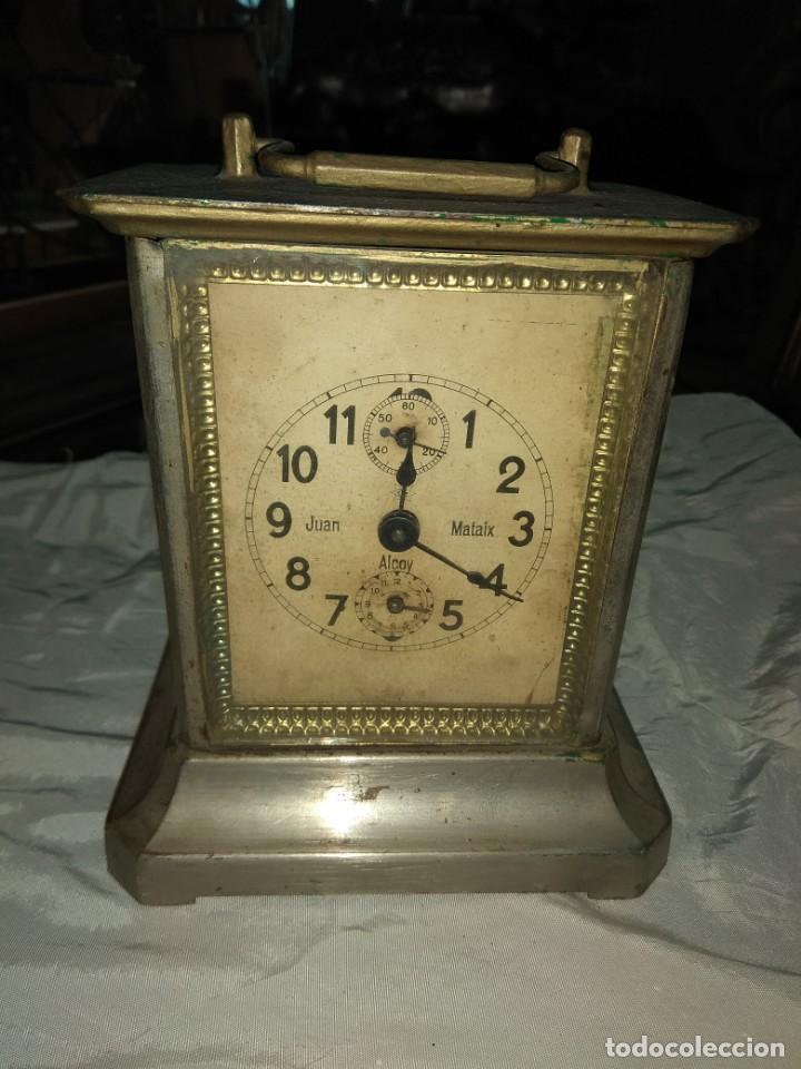 Relojes de carga manual: Antiguo Reloj de Carruaje Junghens - Juan Mataix Alcoy - Leer Descripción - - Foto 2 - 160017874