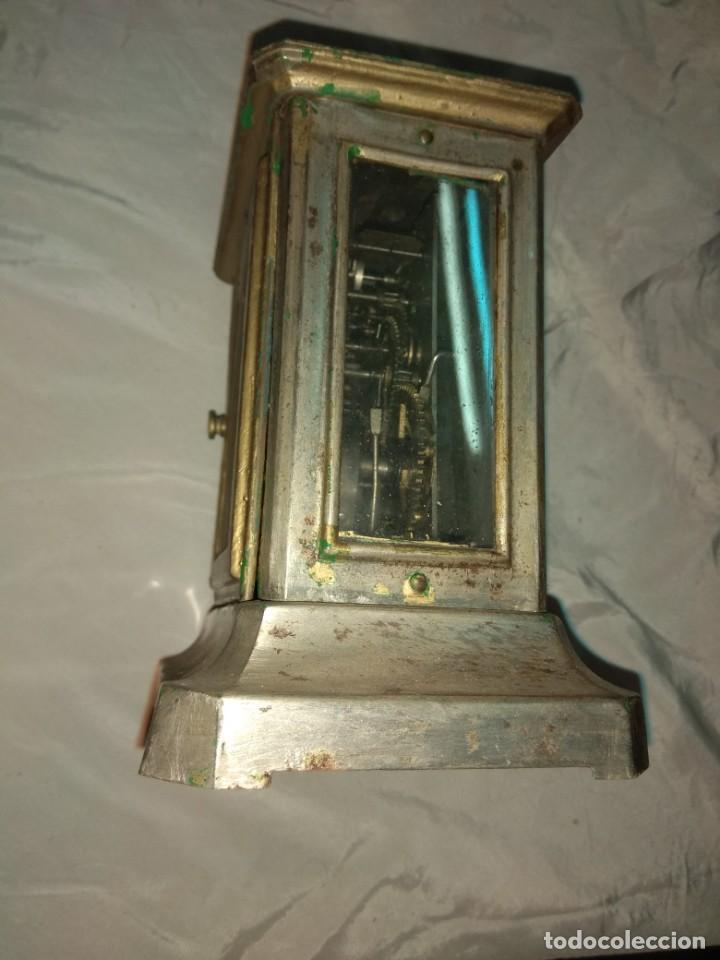 Relojes de carga manual: Antiguo Reloj de Carruaje Junghens - Juan Mataix Alcoy - Leer Descripción - - Foto 4 - 160017874