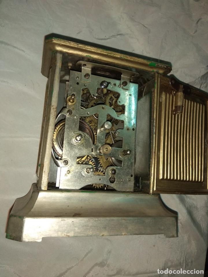 Relojes de carga manual: Antiguo Reloj de Carruaje Junghens - Juan Mataix Alcoy - Leer Descripción - - Foto 6 - 160017874
