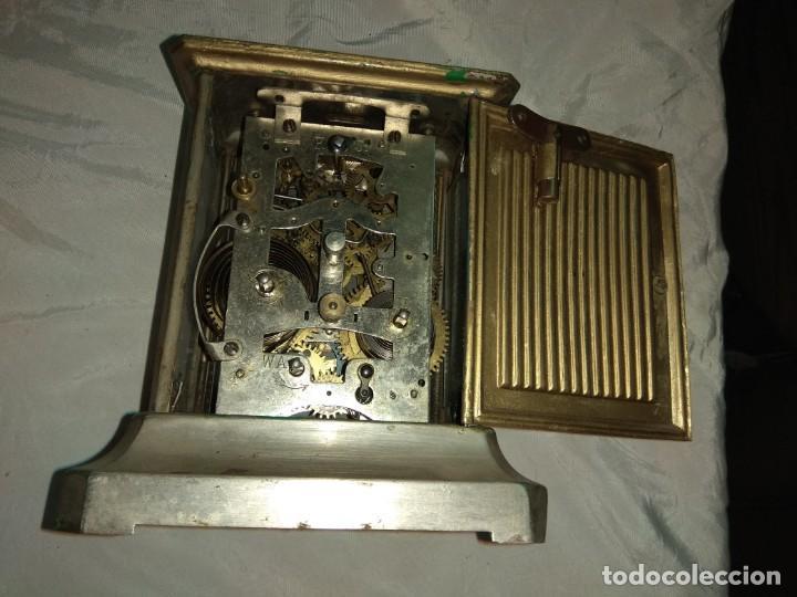 Relojes de carga manual: Antiguo Reloj de Carruaje Junghens - Juan Mataix Alcoy - Leer Descripción - - Foto 7 - 160017874