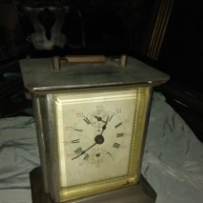 Relojes de carga manual: ANTIGUO RELOJ DE CARRUAJE ITALIANO - LEER DESCRIPCIÓN -. Lote 160018782
