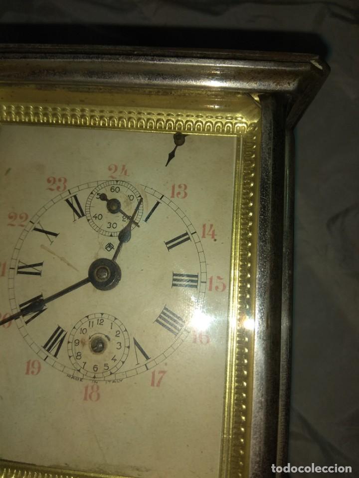 Relojes de carga manual: Antiguo Reloj de Carruaje Italiano - Leer Descripción - - Foto 4 - 160018782