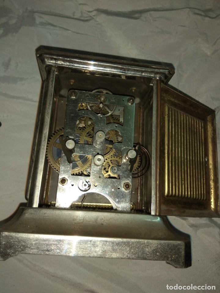 Relojes de carga manual: Antiguo Reloj de Carruaje Italiano - Leer Descripción - - Foto 6 - 160018782
