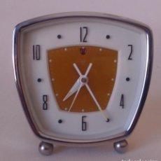 Relojes de carga manual: RELOJ DESPERTADOR DE CUERDA. Lote 160273010