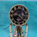 Relojes de carga manual: RELOJ DE SOBREMESA, KERN, A CUERDA MECANICA, CON PENDULO DE TORSION-...AÑOS 70..PARA RESTAURAR-LEER.. Lote 160386190