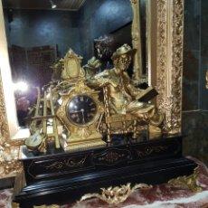 Relojes de carga manual: RELOJ DE SOBREMESA ( GRAN TAMAÑO). Lote 160609218