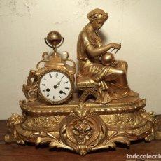 Relojes de carga manual: RELOJ ISABELINO DORADO, CALAMINA. Lote 161014278