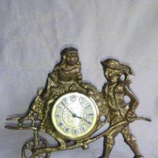 Relojes de carga manual: RELOJ DE BRONCE NIÑOS MARCA EUROPA 2 JEWELS GERMANY. Lote 161909012