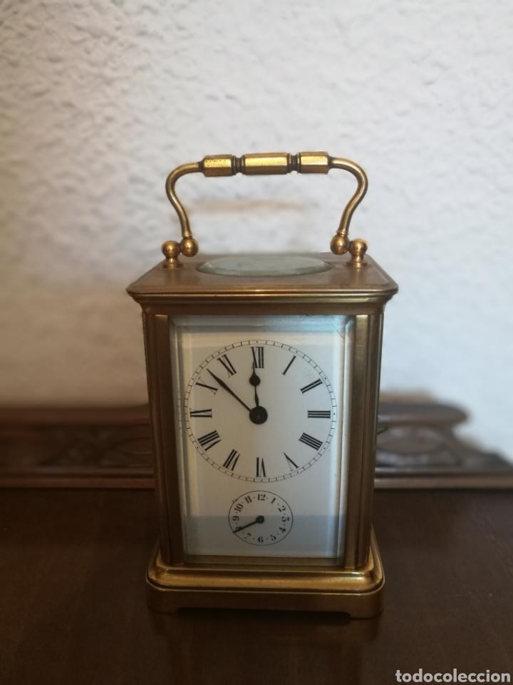 RELOJ DE CABECERA SIGLO XIX (Relojes - Sobremesa Carga Manual)