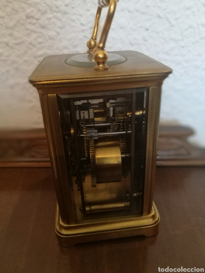 Relojes de carga manual: Reloj de cabecera siglo XIX - Foto 5 - 162561085