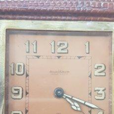 Relojes de carga manual: RELOJ DE VIAJE JAEGER LE COULTRE DE VIAJE EN PIEL EN MARCHA. Lote 162616133