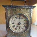 Relojes de carga manual: ANTIGUO RELOJ DE CARRUAJE JUNGHANS ENVÍO CERTIFICADO INCLUIDO. Lote 163483313