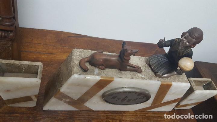 Relojes de carga manual: Reloj Art Decó. - Foto 2 - 164741226
