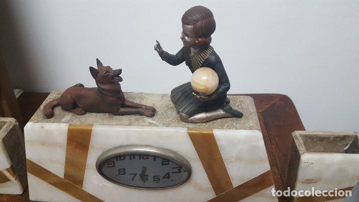 Relojes de carga manual: Reloj Art Decó. - Foto 3 - 164741226