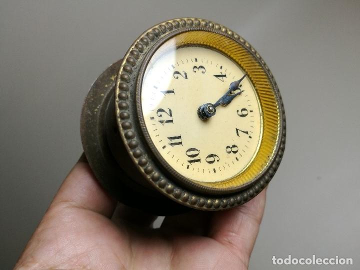 Relojes de carga manual: RELOJ DE ENCASTRAR DE ORIGEN SUIZO - ALEMAN ? CUERDA PASADA-PARA REPARAR - Foto 9 - 164743070