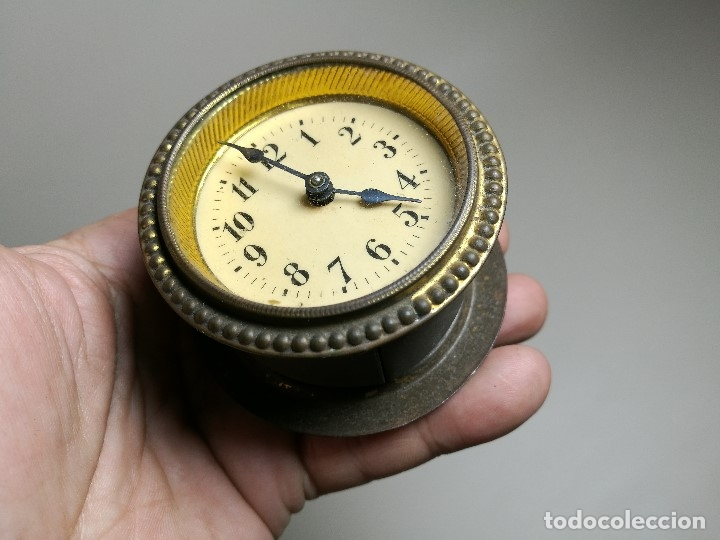 Relojes de carga manual: RELOJ DE ENCASTRAR DE ORIGEN SUIZO - ALEMAN ? CUERDA PASADA-PARA REPARAR - Foto 14 - 164743070