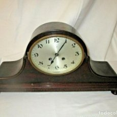 Relojes de carga manual: ¡¡GRAN OFERTA!!!!PRECIOSO RELOJ SOBREMESA JUNGHANS EN NOGAL DE ALEMANIA- ESTILO NAPOLEON AÑO 1910-2O. Lote 165145522