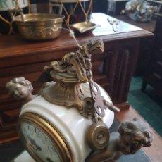 Relojes de carga manual: RELOJ PARIS BASE MARMOL. Lote 165683676