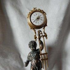 Relojes de carga manual: RELOJ ANTIGUO PENDULO. Lote 165769534