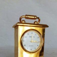 Relojes de carga manual: RELOJ DE SOBREMESA MOTTI QUARTZ. . Lote 165778810