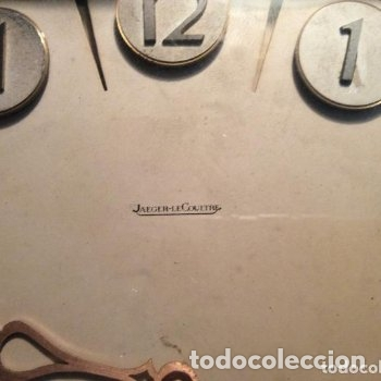 Relojes de carga manual: ANTIGUO Reloj de sobremesa JAEGER LE COULTRE Art Deco año 40 100% ORIGINAL - Foto 2 - 165898018