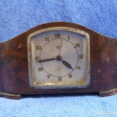 Relojes de carga manual: RELOJ DE SOBREMESA, CARGA MANUAL, ALEMANIA, MARCA JUNGHANS, AÑOS 30.PARA RESTAURAR..DESCRIPCION.. Lote 166453806