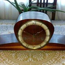 Relojes de carga manual: ANTIGUO RELOJ DE CHIMENEA. Lote 166781645