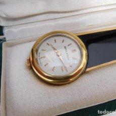 Relojes de carga manual: ABRECARTAS CON RELOJ INCORPORADO ANDRE WYLER AÑOS 50-60. Lote 167013856