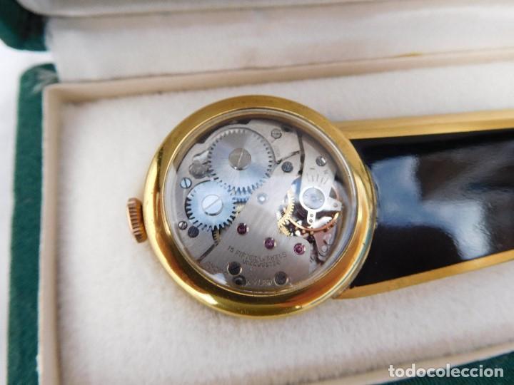 Relojes de carga manual: Abrecartas con reloj incorporado Andre Wyler años 50-60 - Foto 2 - 167013856