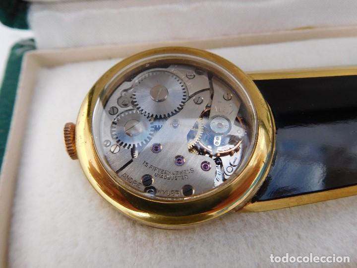 Relojes de carga manual: Abrecartas con reloj incorporado Andre Wyler años 50-60 - Foto 3 - 167013856