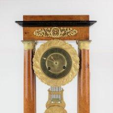 Relojes de carga manual: RELOJ IMPERIO, PRINCIPIOS SIGLO XIX, RESTAURADO. VER FOTOS. 49X25X16CM. Lote 167123408