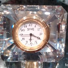 Relojes de carga manual: RELOJ SOBREMESA TAR GARD RECTANGULAR TIPO SWAROVSKI. Lote 167500572