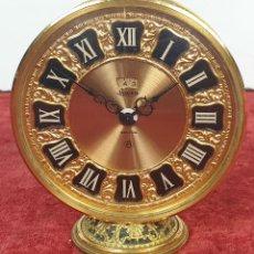 Relojes de carga manual: RELOJ DE SOBREMESA. JAEGER RECITAL. 8 DIAS. ESTILO ISABELINO. CIRCA 1960. . Lote 167937076