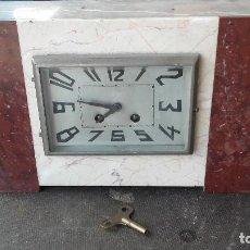 Relojes de carga manual: RELOJ EN MÁRMOL . Lote 168589144