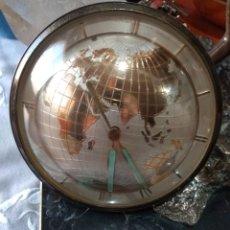 Relojes de carga manual: RELOJ TERMÓMETRO VINTAGE MAPA MUNDII. Lote 168635525
