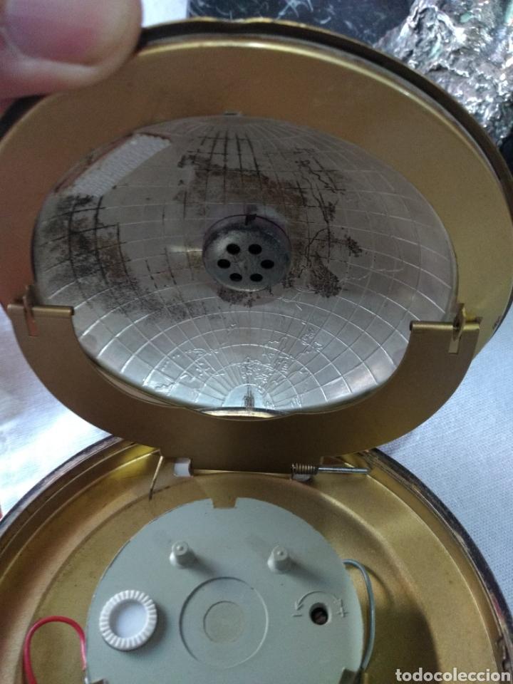 Relojes de carga manual: RELOJ ( ANTIGUO )Y TERMÓMETRO FORMA DE MAPA MUNDII. MÁS EN MÍ PERFIL. - Foto 2 - 168635525
