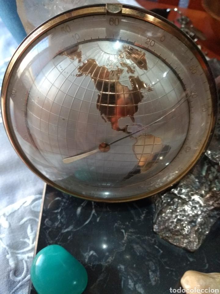 Relojes de carga manual: RELOJ ( ANTIGUO )Y TERMÓMETRO FORMA DE MAPA MUNDII. MÁS EN MÍ PERFIL. - Foto 6 - 168635525