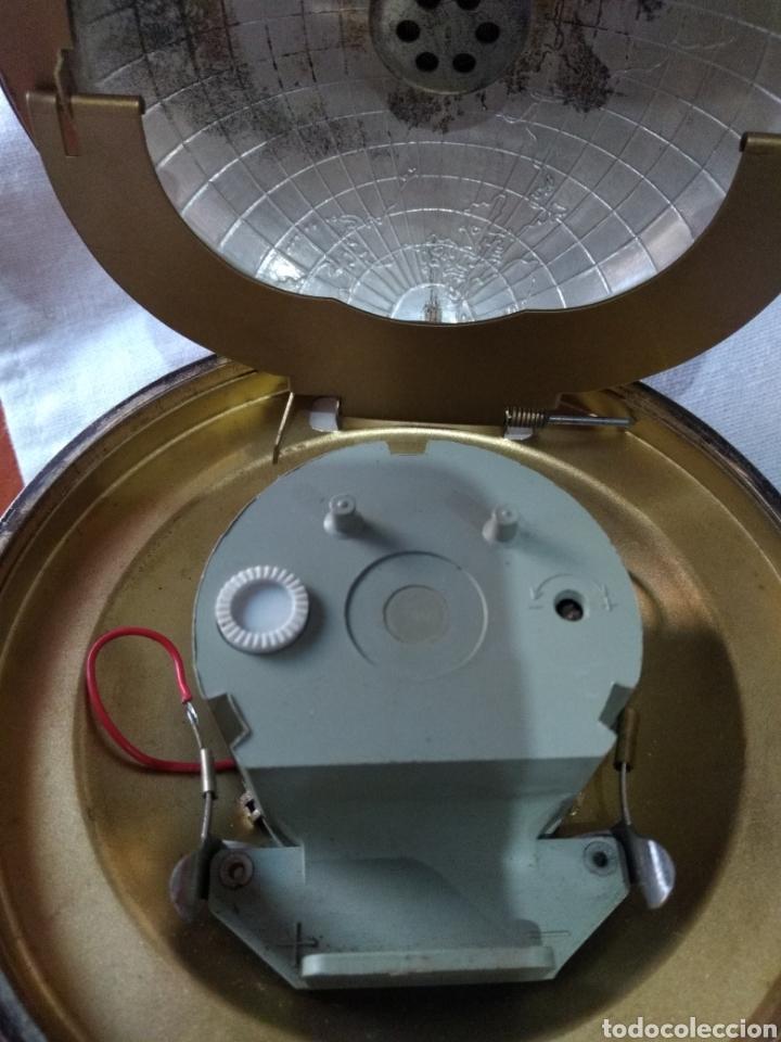 Relojes de carga manual: RELOJ ( ANTIGUO )Y TERMÓMETRO FORMA DE MAPA MUNDII. MÁS EN MÍ PERFIL. - Foto 7 - 168635525
