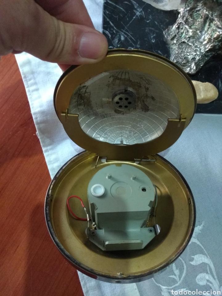 Relojes de carga manual: RELOJ ( ANTIGUO )Y TERMÓMETRO FORMA DE MAPA MUNDII. MÁS EN MÍ PERFIL. - Foto 8 - 168635525