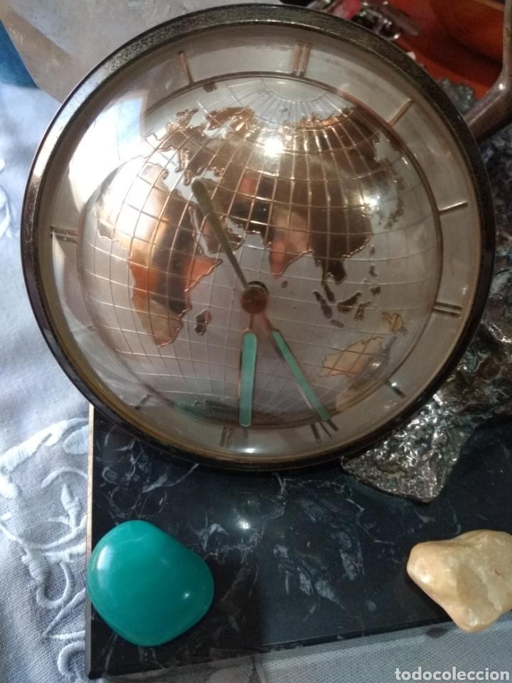 Relojes de carga manual: RELOJ ( ANTIGUO )Y TERMÓMETRO FORMA DE MAPA MUNDII. MÁS EN MÍ PERFIL. - Foto 10 - 168635525