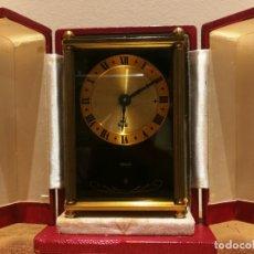 Relojes de carga manual: RELOJ DESPERTADOR MUSICAL JAEGER. Lote 201708905