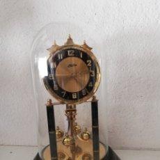 Relojes de carga manual: ANTIGUO RELOJ MESA MECÁNICO ALEMÁN DE CUERDA QUE DURA 400 DÍAS AÑOS 50 MARCA HALLER. Lote 169003664
