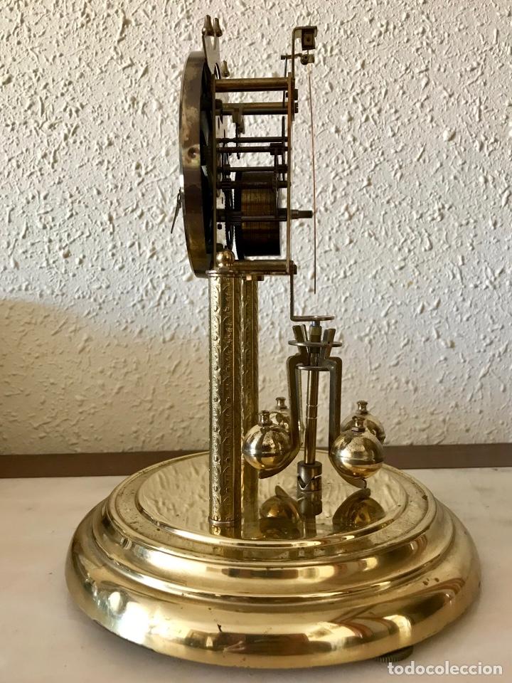Relojes de carga manual: RELOJ DE TORSIÓN / ANIVERSARIO/ 400 DÍAS. MARCA KONDOR, ALEMÁN. SOBREMESA. A RESTAURAR. - Foto 3 - 169011704